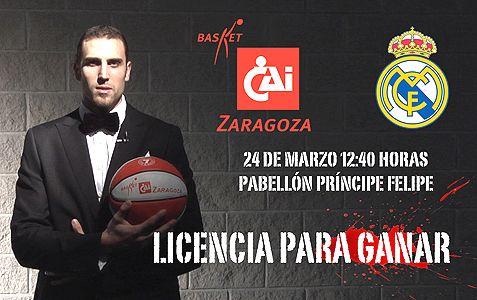 Trae a tus amigos al CAI Zaragoza-Real Madrid