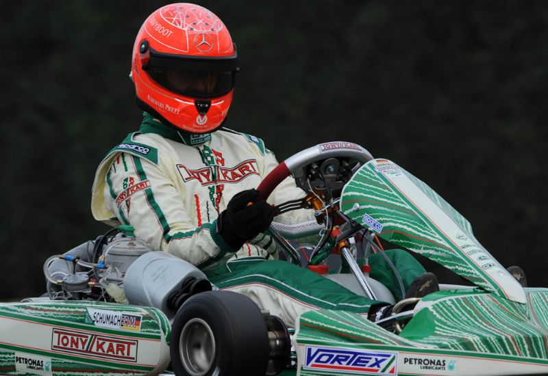 Michael Schumacher estará compitiendo en Zuera a partir del miércoles