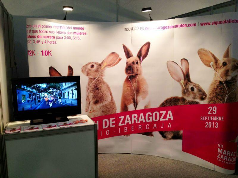 La Maratón de Zaragoza 2013 se presentó en Barcelona