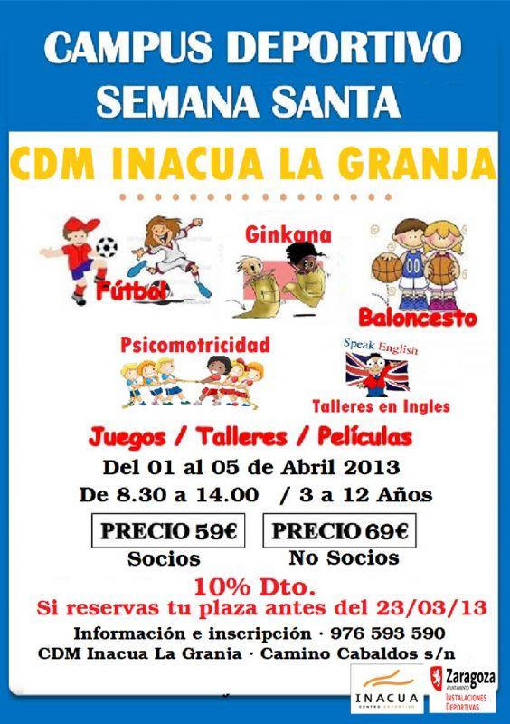 Campus Deportivo de Semana Santa «Inacua La Granja»
