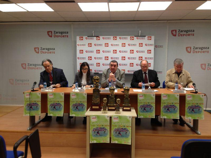 Presentado el Trofeo «CAI-Ciudad de Zaragoza» de Fútbol Base