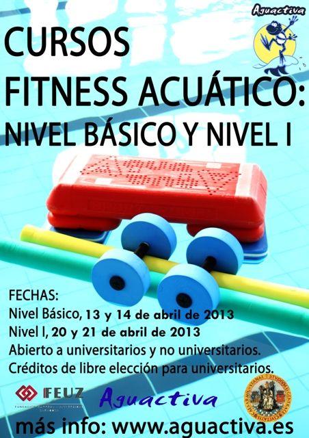 Curso para monitores de Fitness Acuático (Básico y Nivel I)