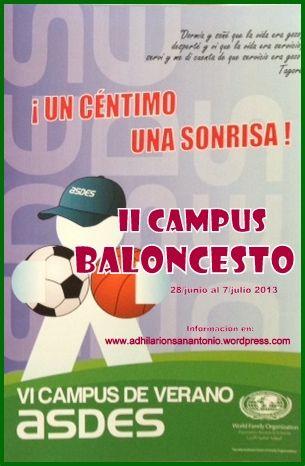 II Campus de Baloncesto ASDES-AD HISA