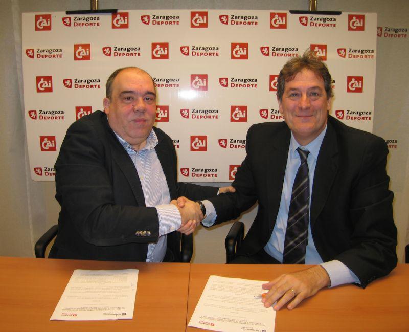 Caja Inmaculada renueva el patrocinio de los Trofeos «CAI-Ciudad de Zaragoza»