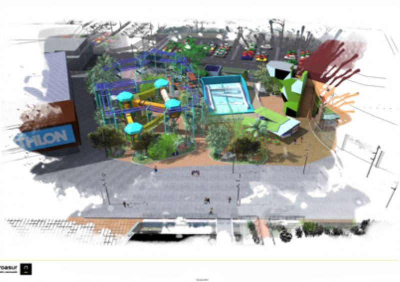 Dock39 inaugurará en Puerto Venecia una espectacular zona exterior