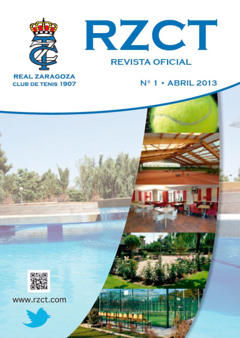 El Real Zaragoza Club de Tenis lanza su revista oficial