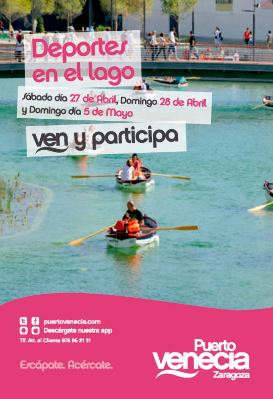 Este domingo, ven a hacer deporte a Puerto Venecia