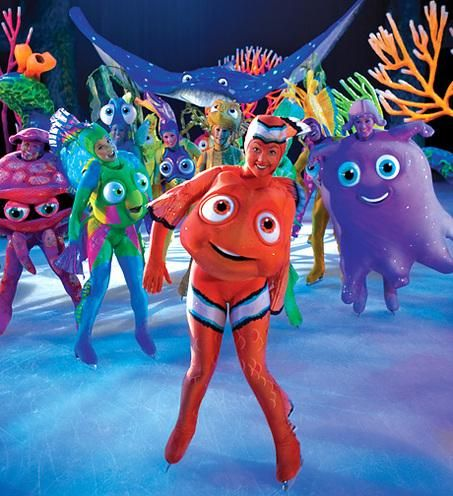 Disney on Ice presenta en Zaragoza «Buscando a Nemo»