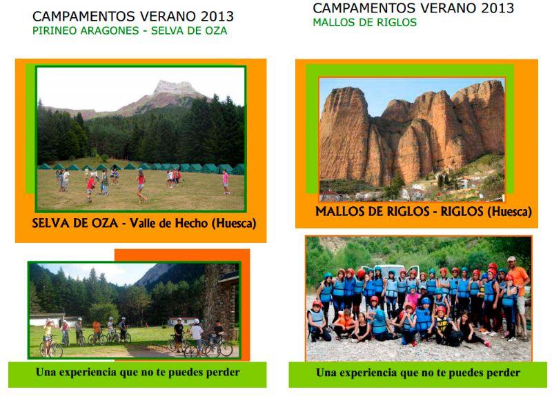 Ecoaventura Riglos presenta sus Campamentos de Verano en Riglos y la Selva de Oza