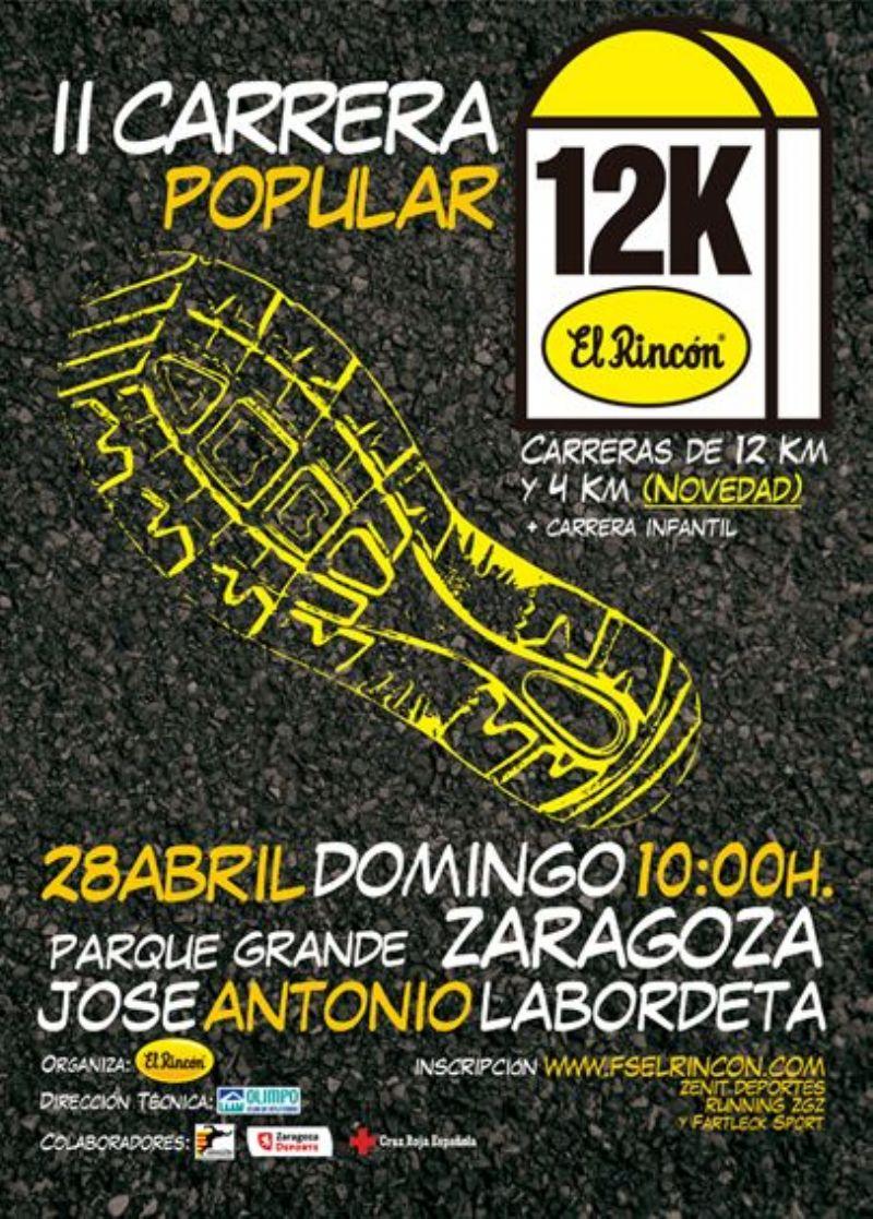 Clasificaciones de la II Carrera Popular 12k «El Rincón»