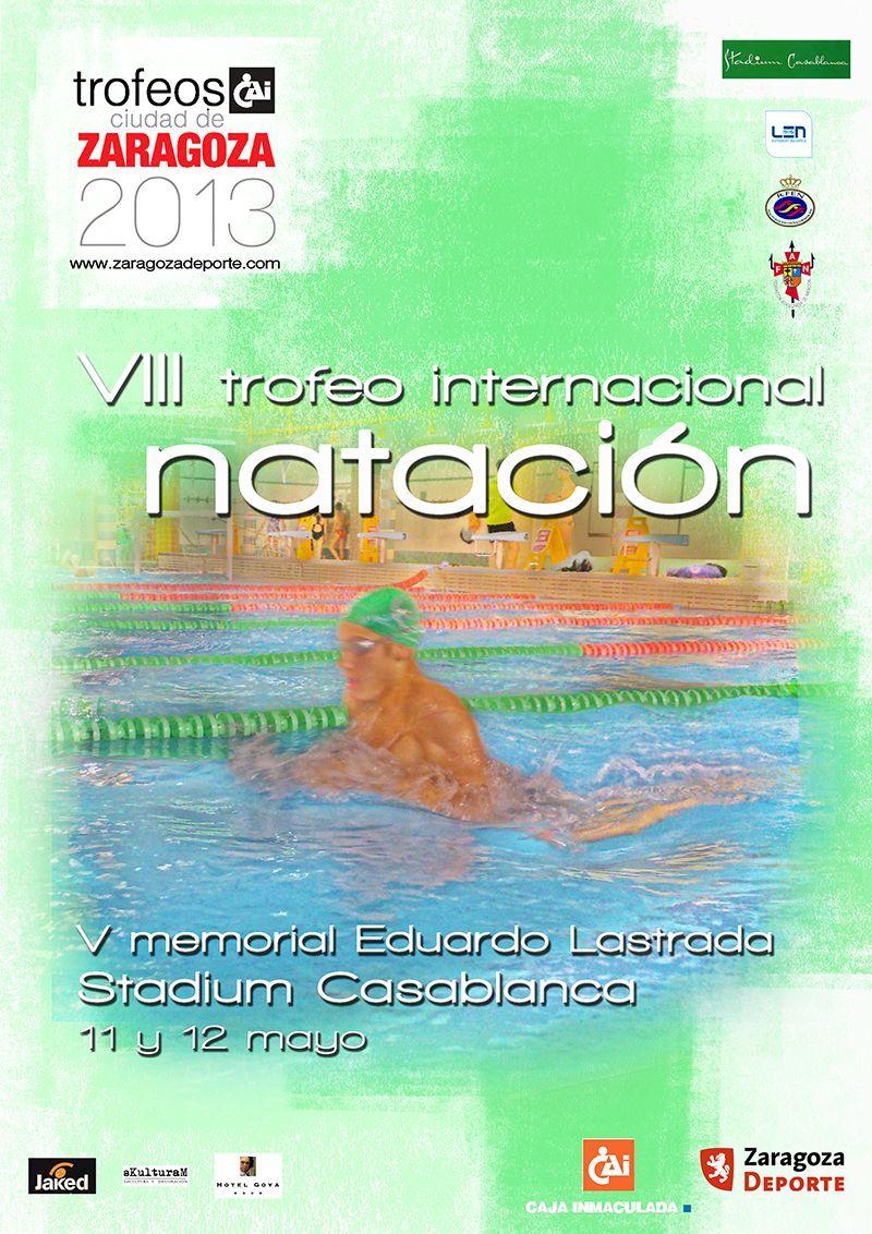 Miguel Rando y Melanie Costa se proclaman vencedores del VIII Trofeo Internacional «CAI-Ciudad de Zaragoza» de Natación