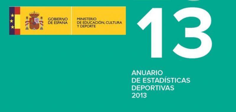 Presentado el I Anuario de Estadísticas Deportivas 2013