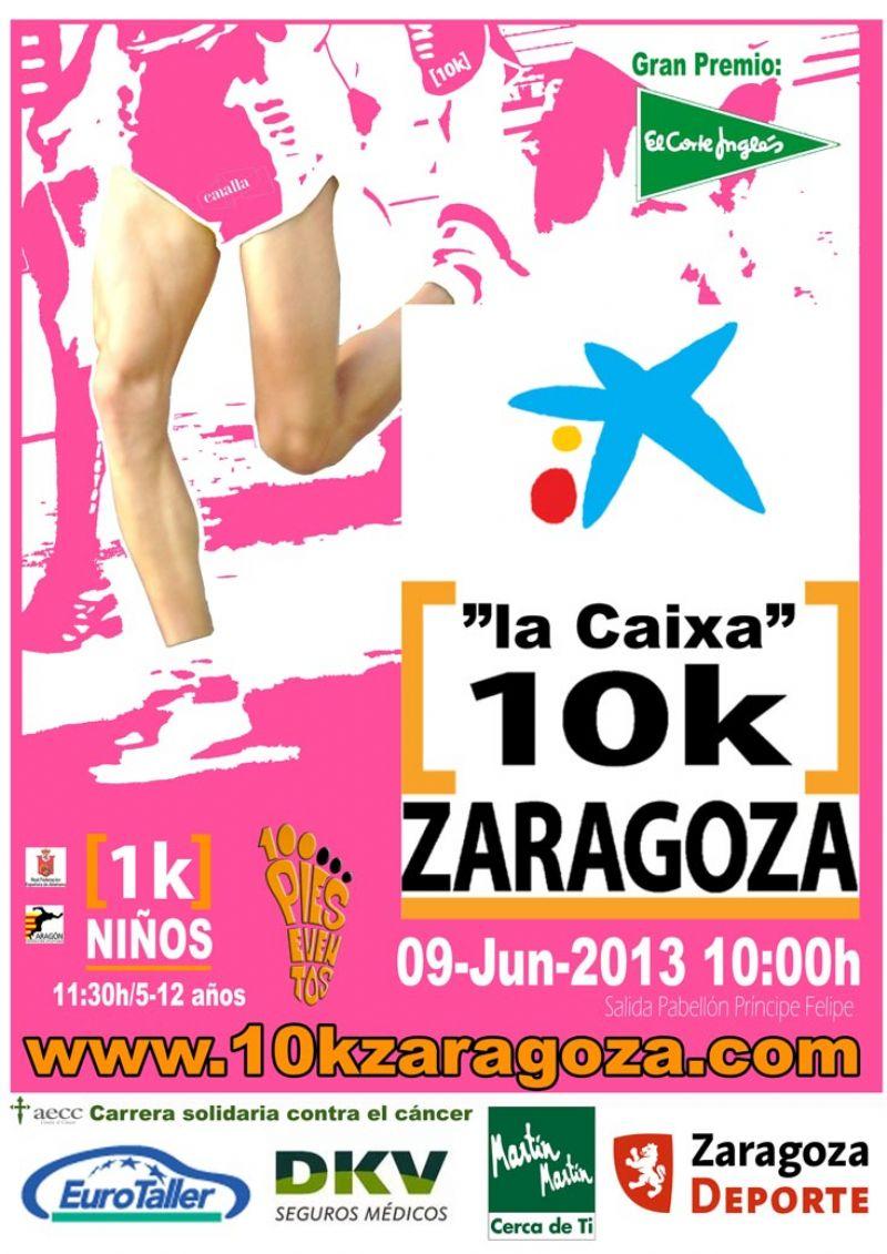 Comienza la semana «La Caixa 10k Zaragoza. Gran Premio El Corte Inglés» con varias actividades