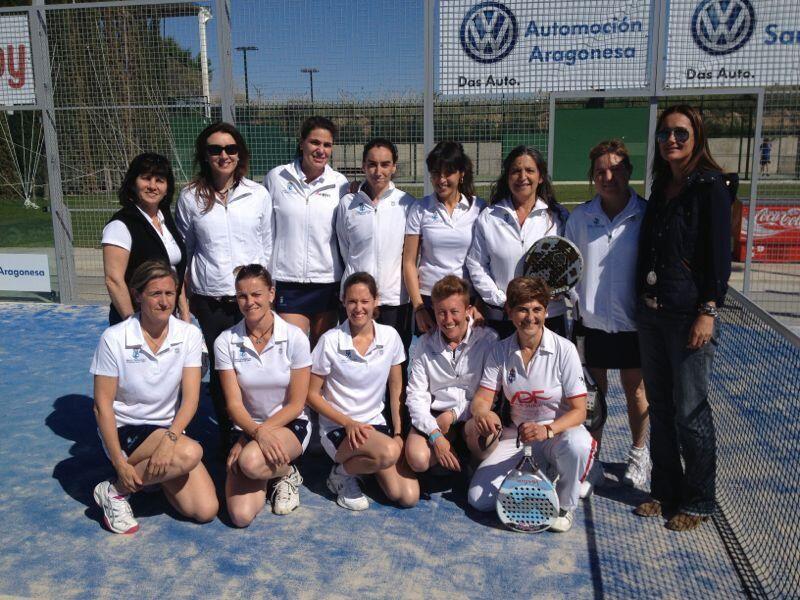 El equipo femenino del RZCT se clasifica para el Campeonato de España de 3ª de Pádel