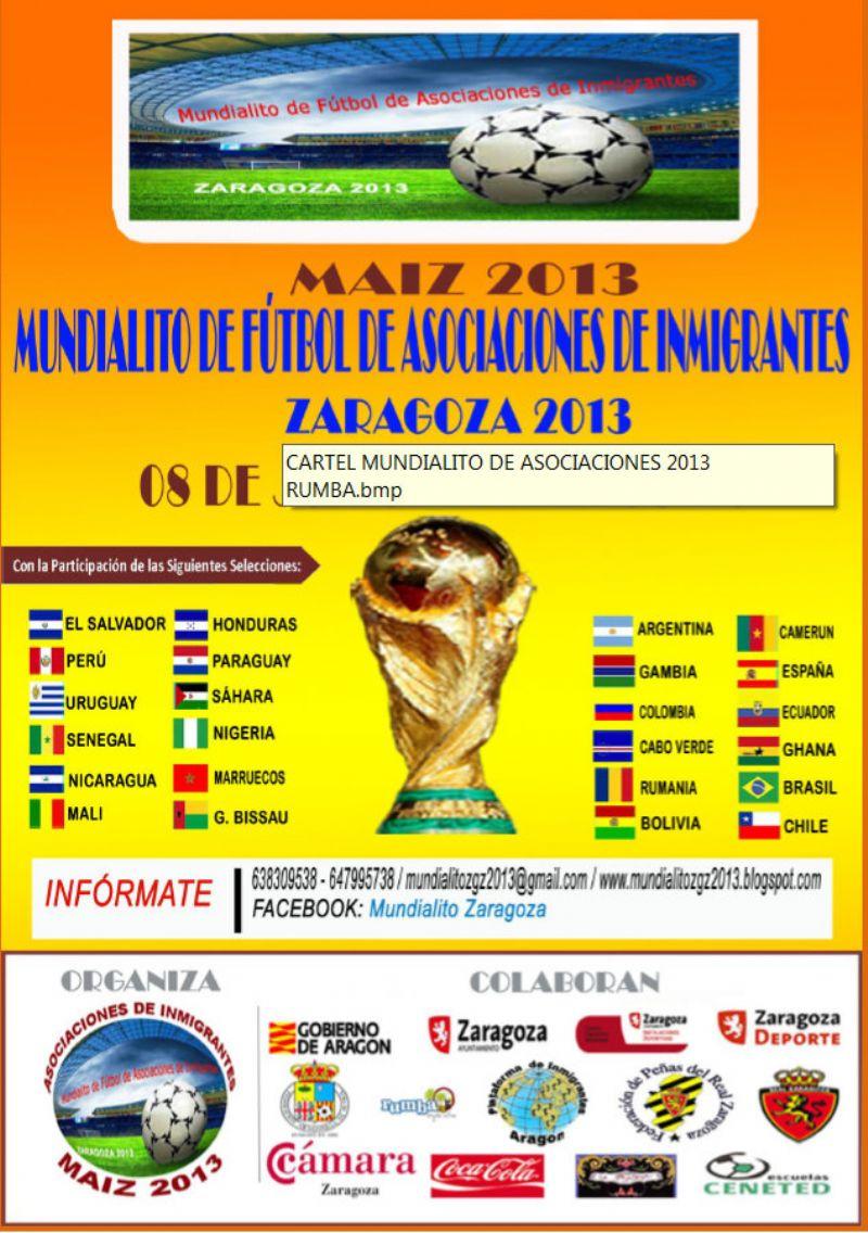 Mundialito de Fútbol de Asociaciones de Inmigrantes «MAIZ 2013»