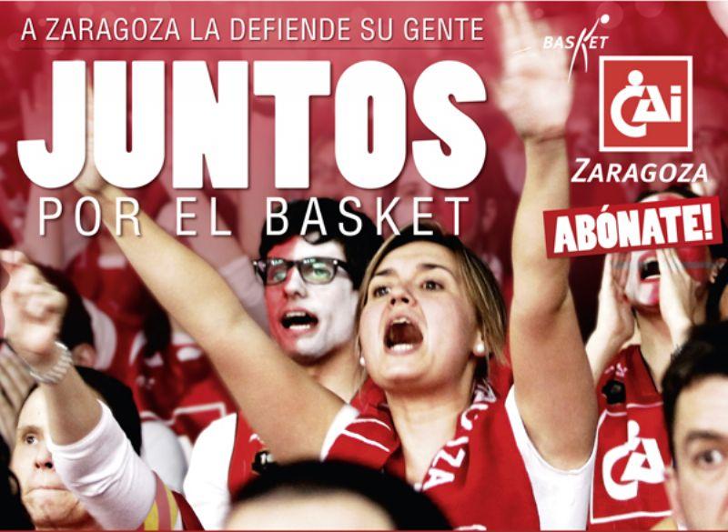 Basket CAI Zaragoza inicia la Campaña de Abonados 2013-2014