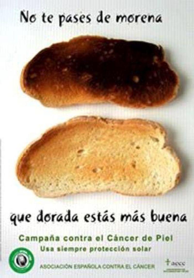 No te pases de moren@ que dorad@ estás más buen@