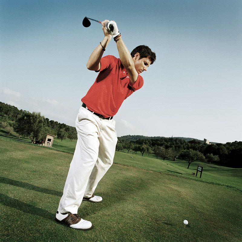 Lesiones en la práctica del golf