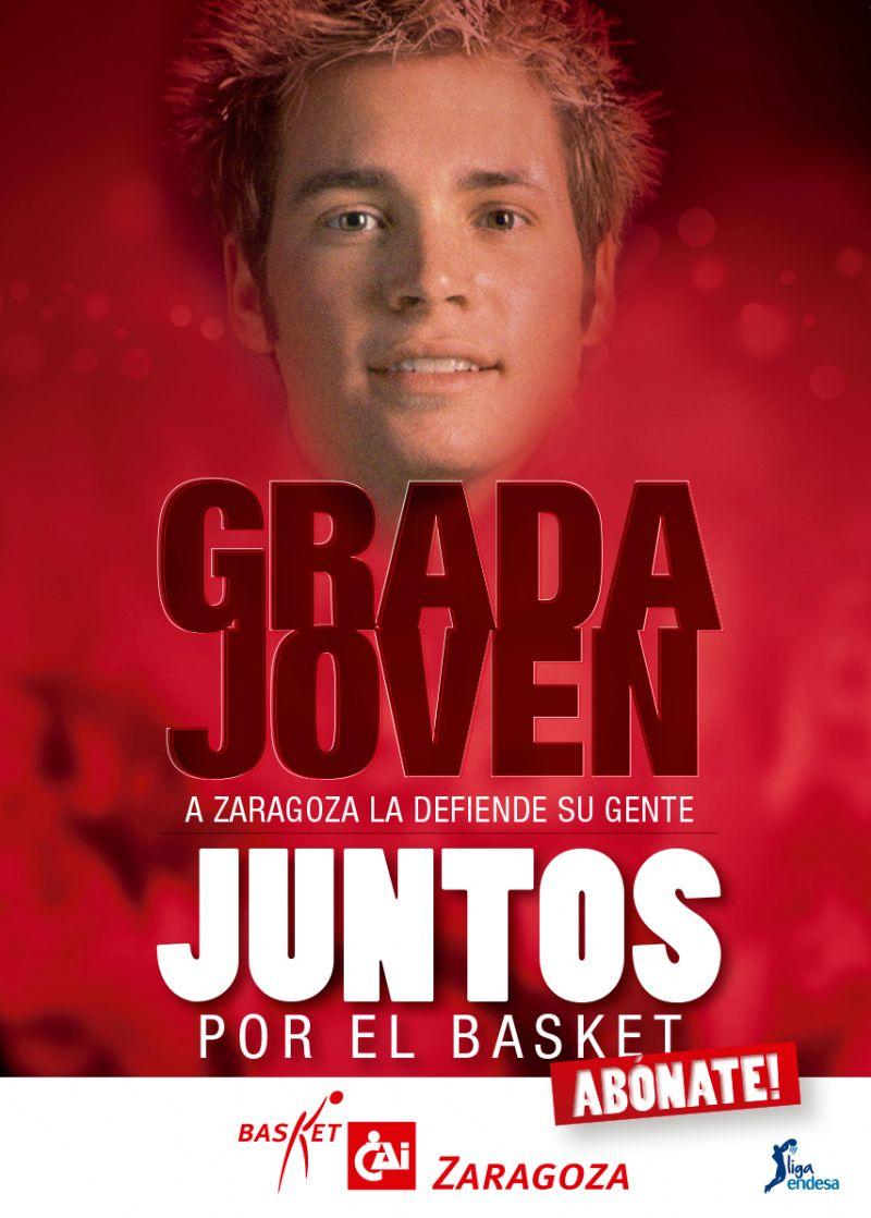 Nueva «Grada Joven» del CAI Zaragoza