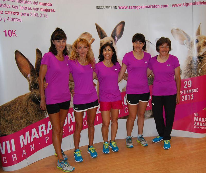 Todas las liebres de la Maratón de Zaragoza serán mujeres