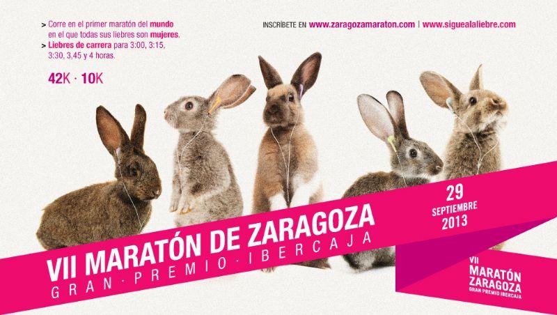 El Maratón de Zaragoza 2013, de nuevo solidario