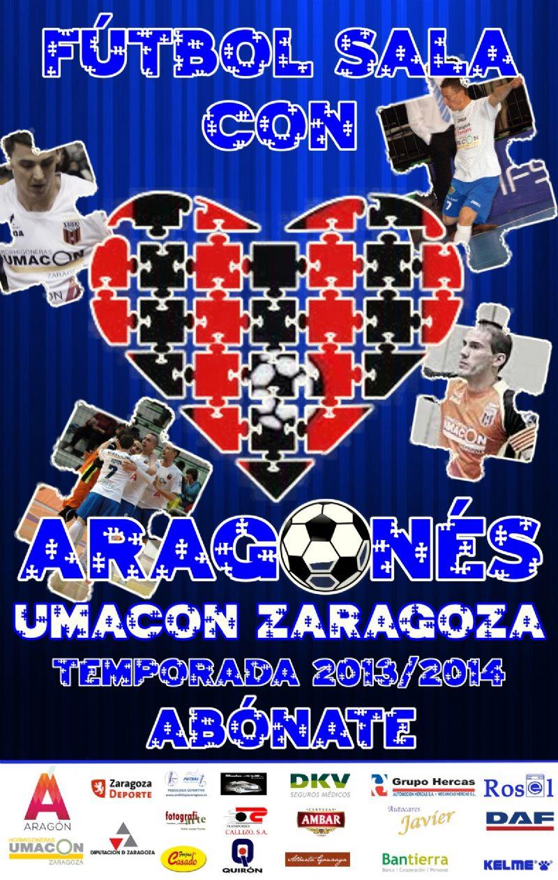 Campaña de abonados 2013/2014 del Umacon Zaragoza