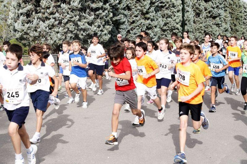 Deporte y calzado deportivo en niños