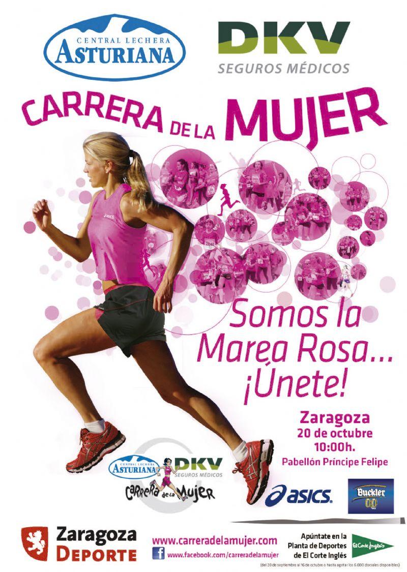 La Carrera de la Mujer Zaragoza 2013 se disputará el 20 de octubre