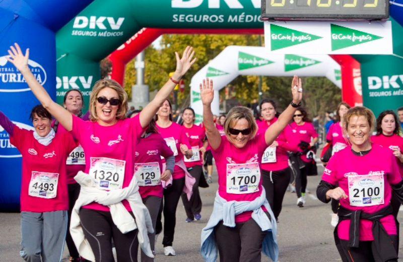 La Carrera de la Mujer Zaragoza 2013, a punto de agotar los 6.000 dorsales disponibles ¡No te quedes sin el tuyo!