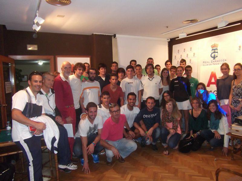 EL Real Zaragoza Club de Tenis y el Gobierno de Aragón, juntos por el tenis
