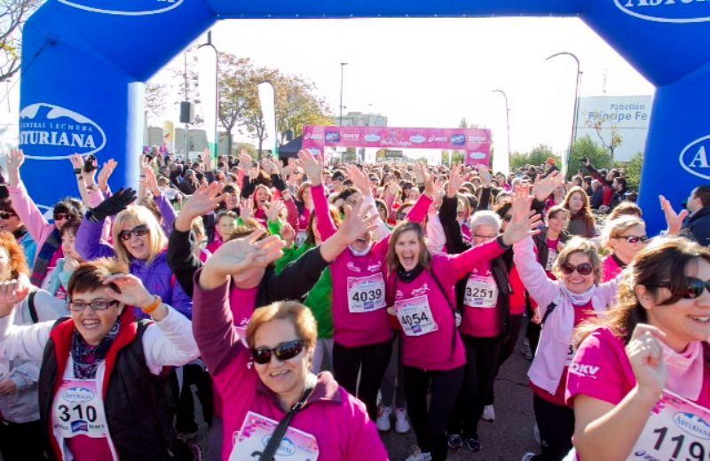 ¡Agotados los 6.000 dorsales para la Carrera de la Mujer de Zaragoza!