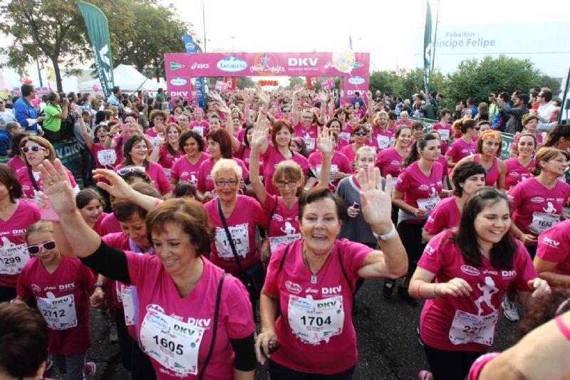 Clasificaciones, fotos y vídeos de Carrera de la Mujer de Zaragoza