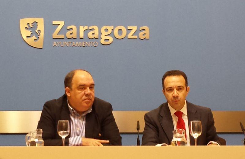 Caixabank y Zaragoza Deporte firman un contrato de patrocinio para promocionar y potenciar el Programa de Actividades Deportivas «Entra en Acción»