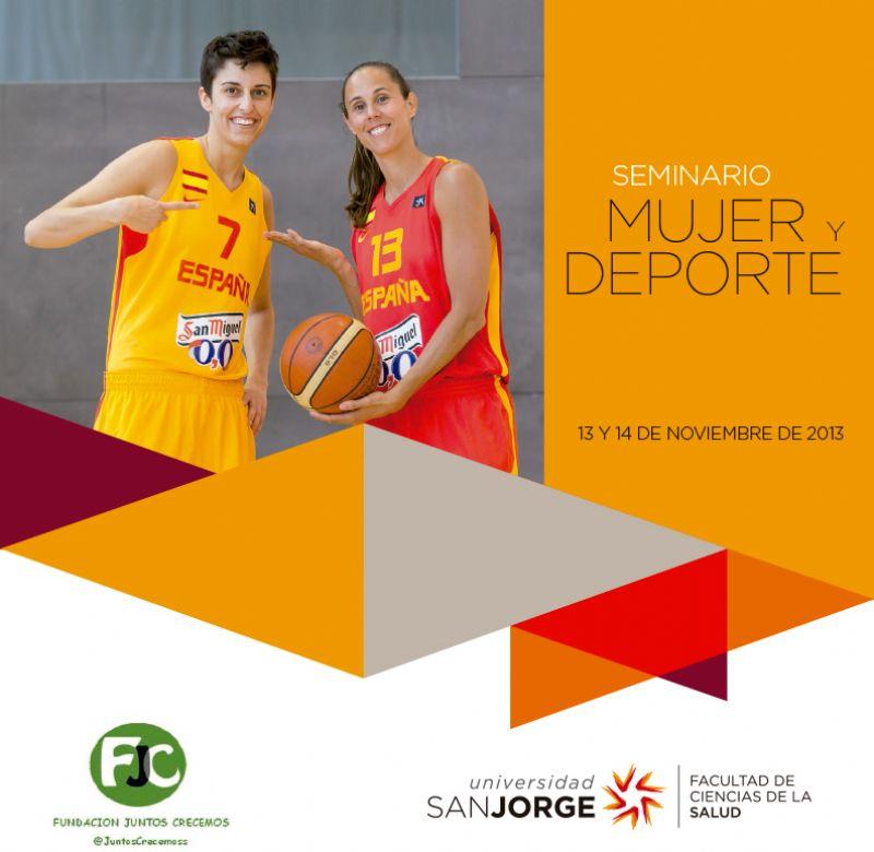El Seminario «Mujer y Deporte» se celebrará los días 13 y 14 de noviembre en la Universidad San Jorge