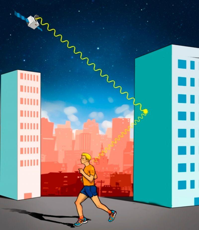 ¿Cómo funciona un GPS para corredores?
