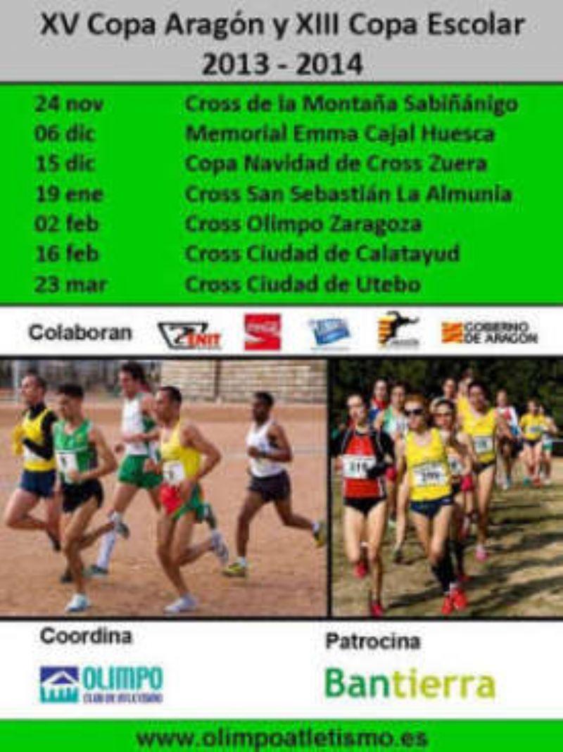 XV Copa Aragón y XIII Copa Escolar de Cross «Gran Premio Bantierra»