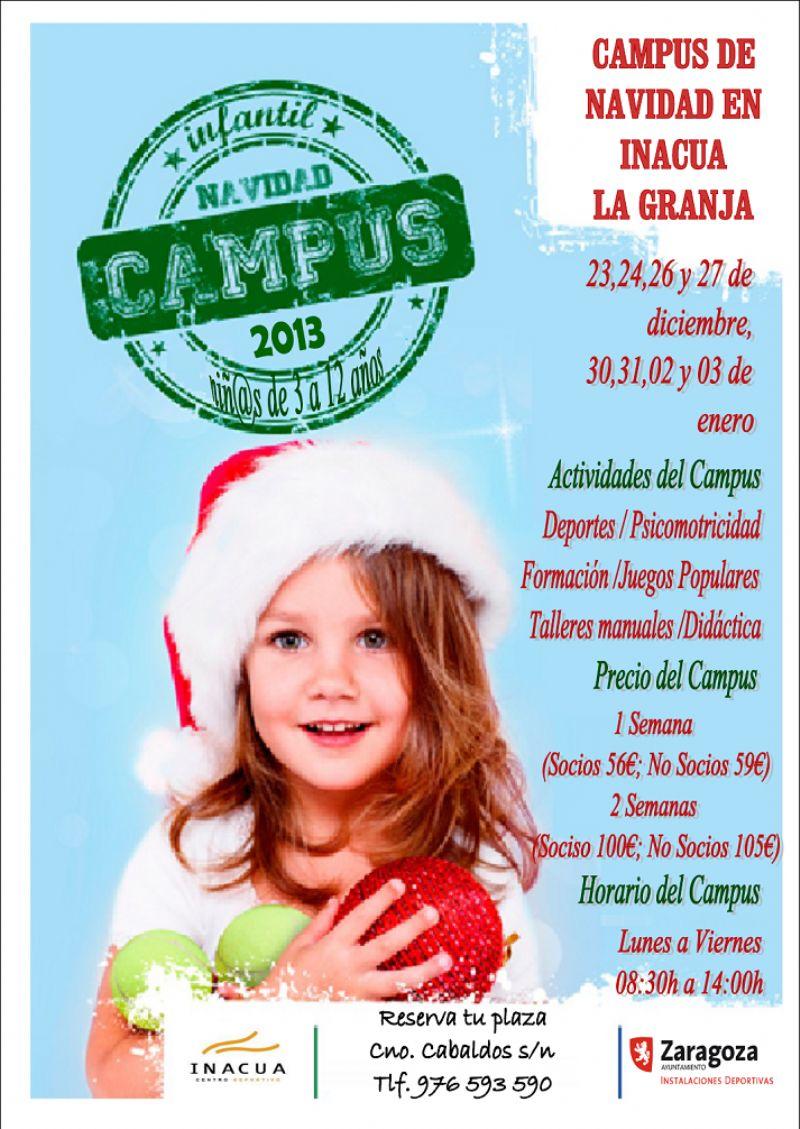 Campus de Navidad en Inacua La Granja