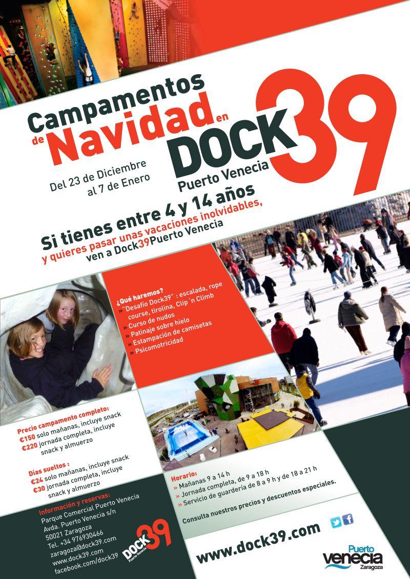 Campamentos de Navidad en Dock39 Puerto Venecia