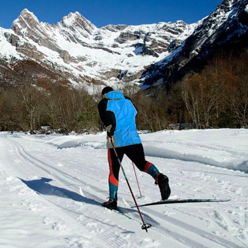 Esquí nórdico como entrenamiento invernal para corredores