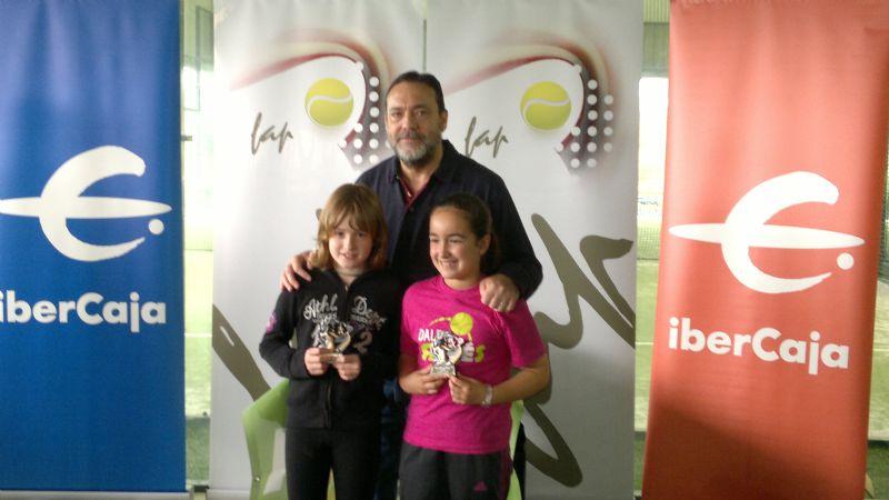 Patricia Araus es la nueva número 1 de España de pádel en categoría benjamín