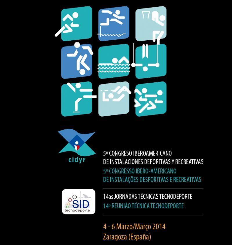 Zaragoza será sede del V Congreso Iberoamericano de Instalaciones Deportivas y Recreativas del 4 al 6 de marzo