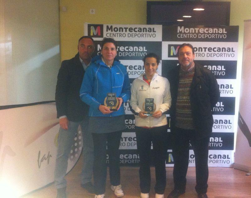 Cecilia Gracia y Beatriz García, campeonas de Aragón de pádel  +35