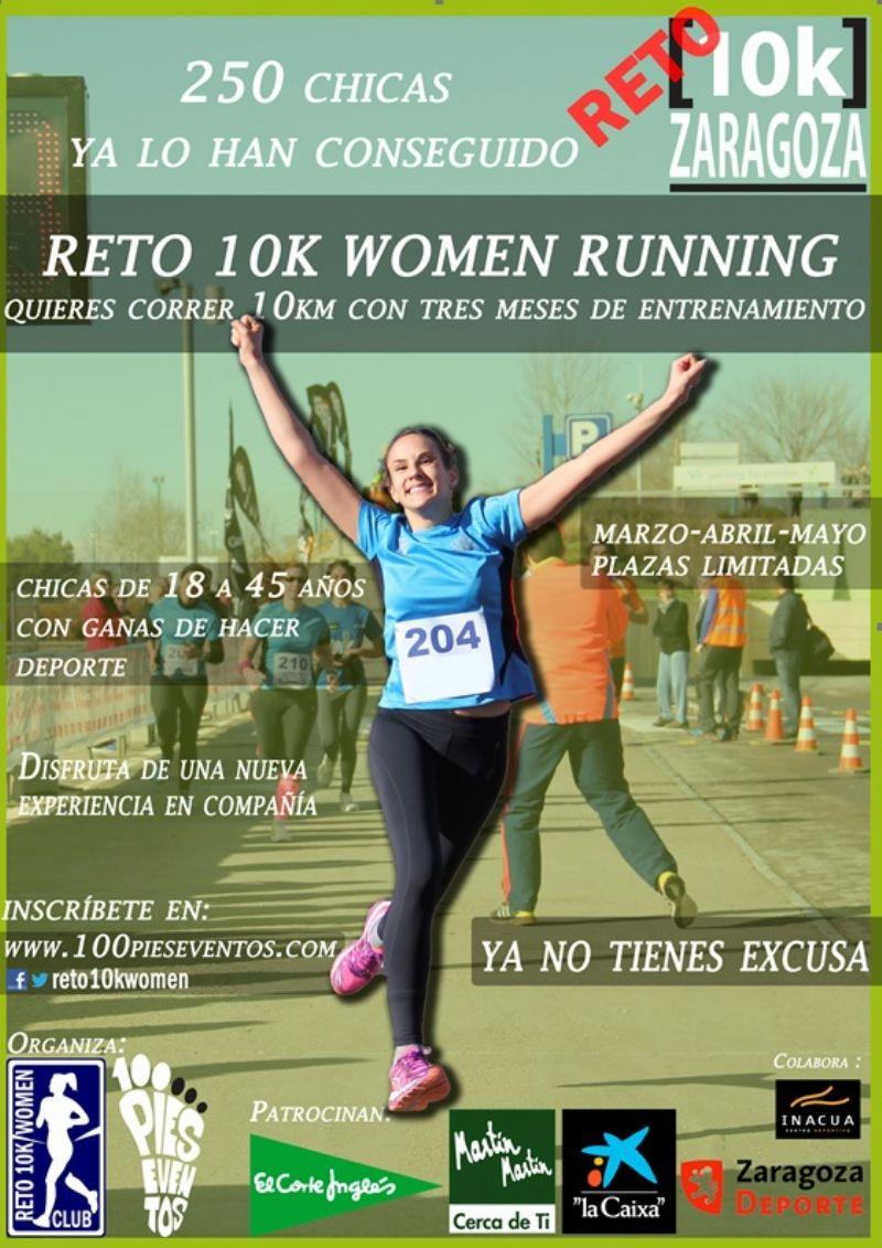 Las mujeres zaragozanas apuestan por el running