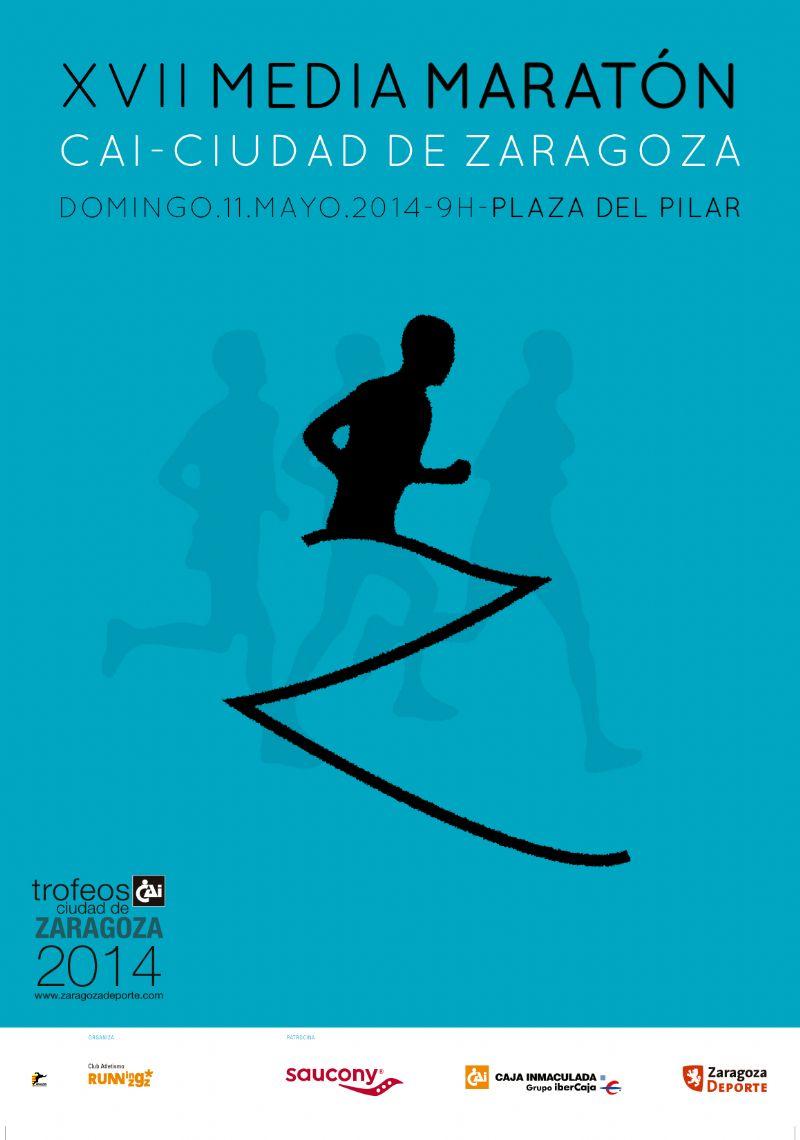 Abiertas las inscripciones para la XVII Media Maratón de Zaragoza