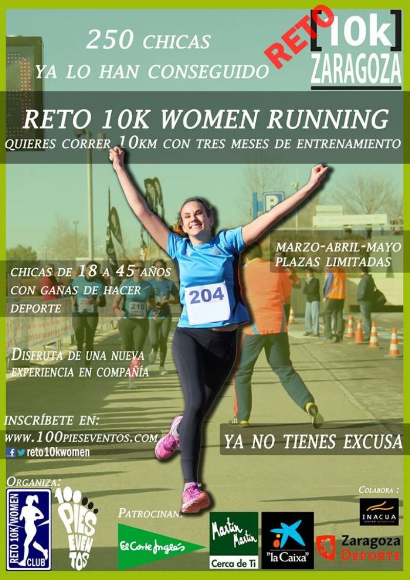 Explosión del running femenino en Zaragoza