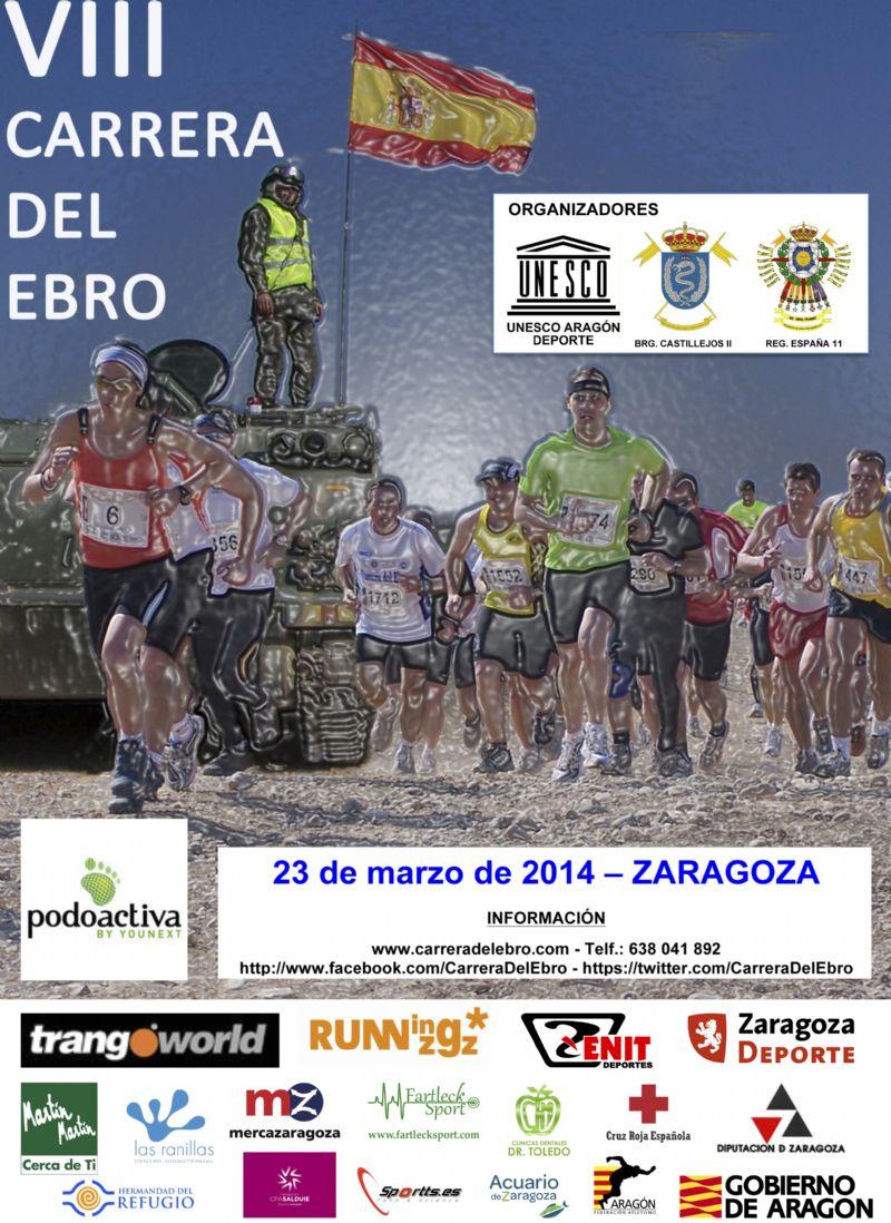 Ya hay más de 1.500 inscritos para la Carrera del Ebro 2014