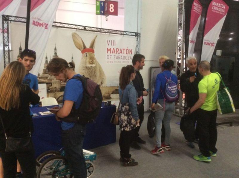 El Maratón de Zaragoza se presentó en Barcelona