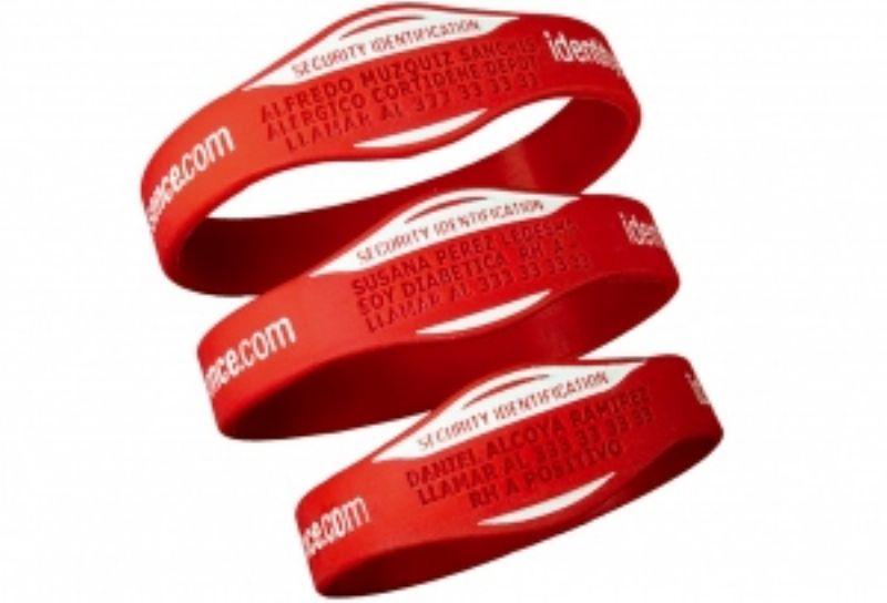 Pulseras identificativas para corredores y ciclistas, muy útiles en caso de accidente o emergencia
