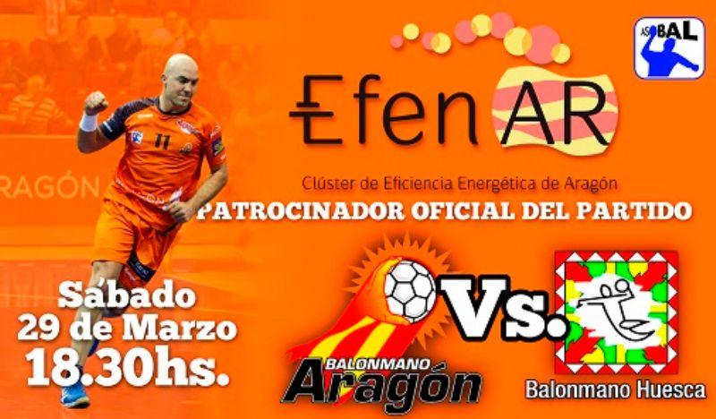 EFENAR patrocinará al Balonmano Aragón