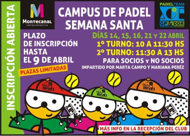 Campus de Pádel en Montecanal C. D.